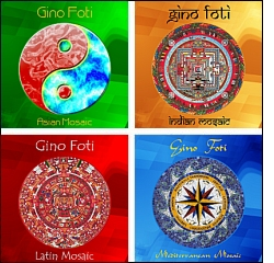 Gino Foti - Mosaic compilations cover art